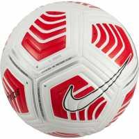 Nike Футболна Топка Strike Football White/Red/Blk Футболни топки