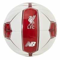 Sale New Balance Lfc Display Ball White/Red Футболни топки
