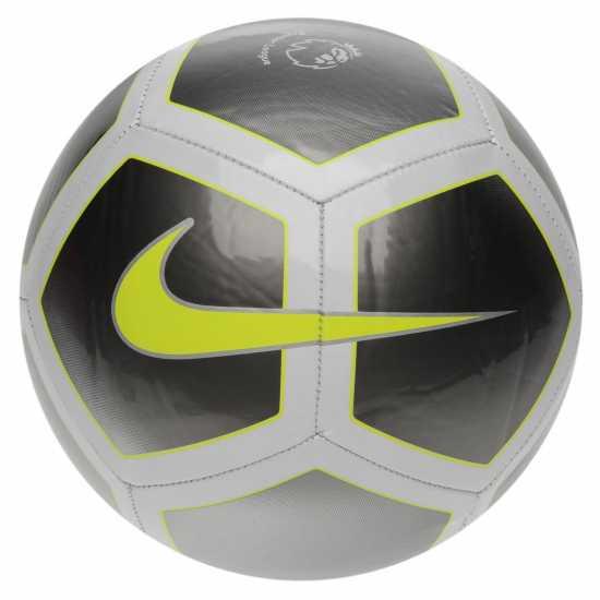 Nike Футболна Топка Pitch Football Grey/Volt Футболни топки