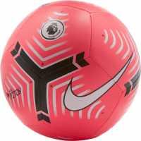 Nike Футболна Топка Premier League Pitch Football Pink Футболни топки