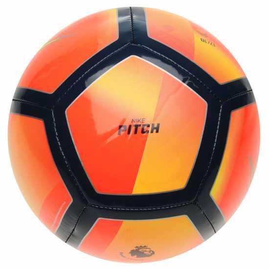Nike Футболна Топка Pitch Football Red/Pink Футболни топки