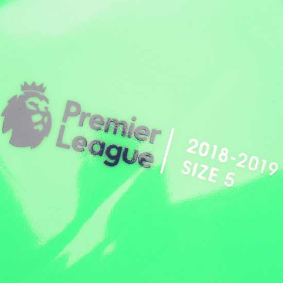 Nike Футболна Топка Pitch Premier League Football Green/Purple Футболни топки