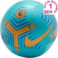 Nike Футболна Топка Premier League Pitch Football Oracle Aqua Футболни топки