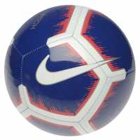 Nike Футболна Топка Pitch Premier League Football Royal/White Футболни топки