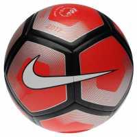 Nike Футболна Топка Pitch Football Red/Silver Футболни топки