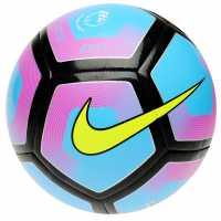 Nike Футболна Топка Pitch Football Cyan/Pink Футболни топки