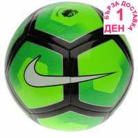 Nike Футболна Топка Pitch Football Green/Black Футболни топки