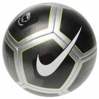 Nike Футболна Топка Pitch Football Black/Silver Футболни топки