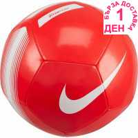 Nike Футболна Топка Premier League Pitch Football Bright Crimson Футболни топки