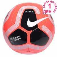 Nike Футболна Топка Pitch Premier League Football Red Футболни топки