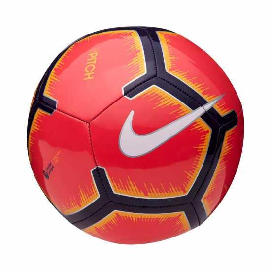 Nike Футболна Топка Pitch Premier League Football Red/Purple Футболни топки