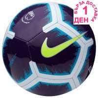 Nike Футболна Топка Pitch Premier League Football Purple/Volt Футболни топки