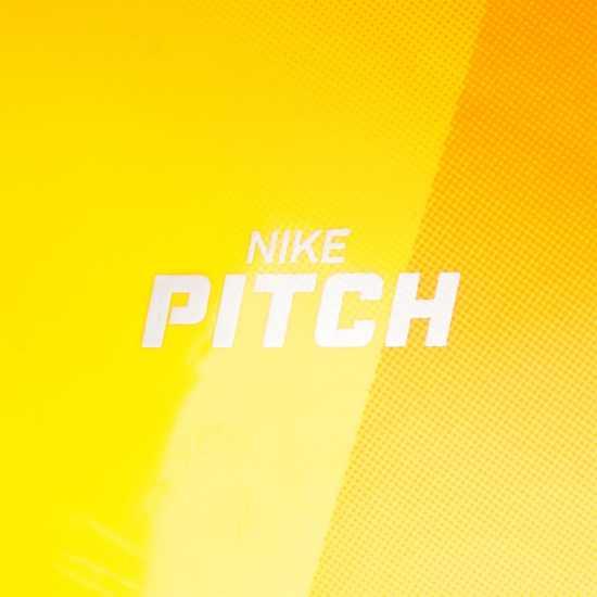 Nike Футболна Топка Pitch Premier League Football Orange/Red Футболни топки