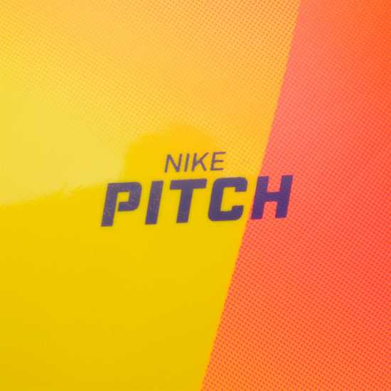 Nike Футболна Топка Pitch Football Yellow/Purple Футболни топки