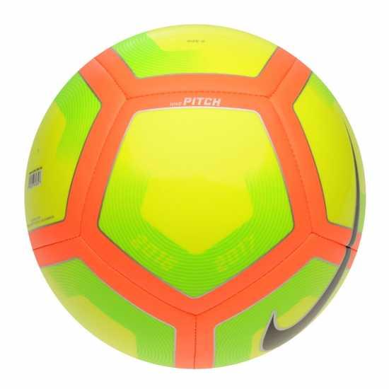 Nike Футболна Топка Pitch Football Volt/Orange Футболни топки