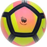 Nike Футболна Топка Pitch Premier League Football Volt/Red Футболни топки