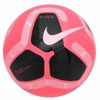 Nike Футболна Топка Premier League Pitch Football WHITE/GOLD/METALLIC SILVER/BLA Футболни топки