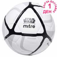 Mitre Star Wars F/ball99 White Футболни топки