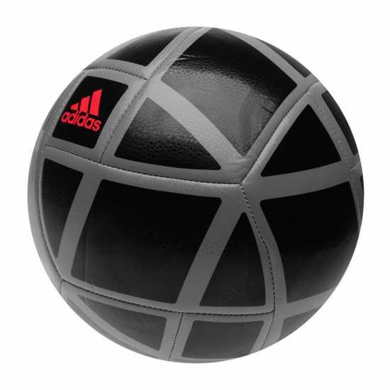 Adidas Футболна Топка Glider Football Black/Grey/Cora Футболни топки