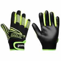 Sportech Gaa Gripper Gloves Juniors Lime Green/Blk Вратарски ръкавици и облекло