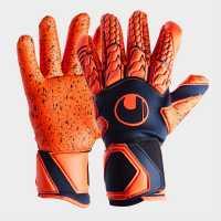 Uhlsport Мъжки Ръкавици Next Level Supergrip Finger Surround Goalkeeper Gloves Mens  Вратарски ръкавици и облекло