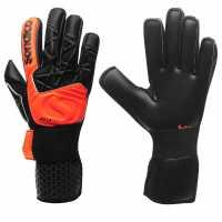 Sondico Мъжки Ръкавици Aqua Pro Goalkeeper Gloves Mens Black/Fluo Pink Футболни аксесоари