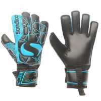 Sondico Вратарски Ръкавици Aquaspine Elite Goalkeeper Gloves Black/Blue