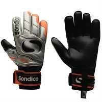 Sondico Мъжки Ръкавици Eliteprotech Goalkeeper Gloves Mens Orange/Black Вратарски ръкавици и облекло