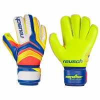 Reusch Ser Primes1 Glv73 Blue/Yellow Футболни аксесоари