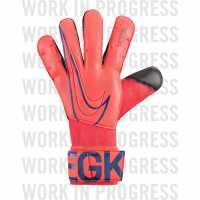 Вратарски Ръкавици Nike Grip 3 Goal Keeper Gloves Red Black Вратарски ръкавици и облекло