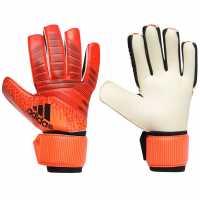 Adidas Мъжки Ръкавици Predator Competition Gloves Mens Red/Black Вратарски ръкавици и облекло