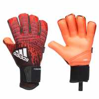 Adidas Вратарски Ръкавици Predator Pro Fs Goalkeeper Gloves Red/Black Вратарски ръкавици и облекло