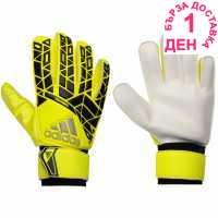 Adidas Мъжки Ръкавици Ace Trainer Goalkeeper Gloves Mens Yellow/Black Ръкавици шапки и шалове