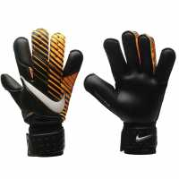 Nike Мъжки Ръкавици Vapor Grip3 Goalkeeper Gloves Mens Black/Orange Ръкавици шапки и шалове