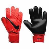 Nike Мъжки Вратарски Ръкавици Goalkeeper Match Gloves Mens Red Футболни аксесоари