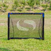 Sondico Steel Football Goal Black/Blue Футболни аксесоари