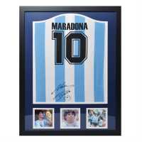 Diego Signed 1986 Argentina Replica Shirt 86 World Cup Сувенири