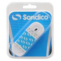 Sondico Flat Football Boot Laces White Футболни аксесоари