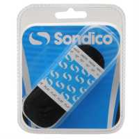 Sondico Flat Football Boot Laces Black Футболни аксесоари