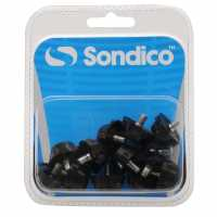 Sondico Rubber Football Studs Black Футболни аксесоари