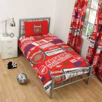Team Football Single Duvet Set Arsenal Футболни тениски на Арсенал