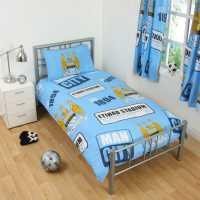 Team Football Single Duvet Set Man City Футболни тениски на Арсенал