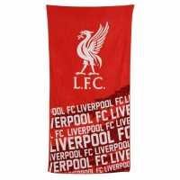 Team Velour Towel Liverpool Футболни аксесоари