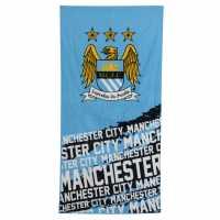 Team Velour Towel Man City Футболни аксесоари
