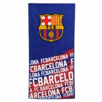 Team Velour Towel Barcelona Футболни аксесоари