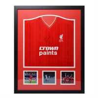 Kenny Dalglish Signed Liverpool Shirt Liverpool Сувенири