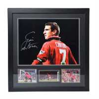 Team Eric Cantona Signed Photo  Сувенири