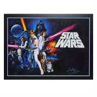 Star Wars Signed Poster DaveProwse/Vadr Сувенири