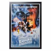 Star Wars Empire Strikes Back Signed Poster Empire Strikes Подаръци и играчки