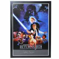 Star Wars Return Of The Jedi Signed Poster Return of Jedi Подаръци и играчки